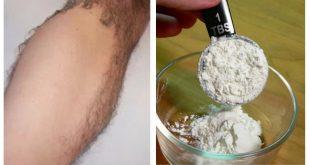 اقسم بالله مرارة الماعز و النشادر نتيجة مو طبيعية لمنع ظهور شعر الجسم